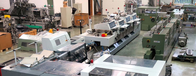 Refurbished Post Press Machinery